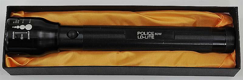 Latarka POLICE 50W LED 3xR14 ZOOM policyjna typ maglite