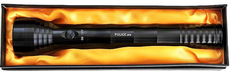 Latarka POLICE 25W LED 3xR20 policyjna typ mag-lite