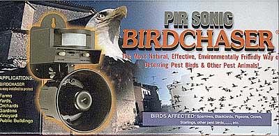Odstraszacz ptaków gołębi szpaków kun łasic mysz szczurów tchórzy łasic