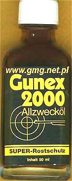 Olej konserwujšcy do broni GUNEX 2000 50ml